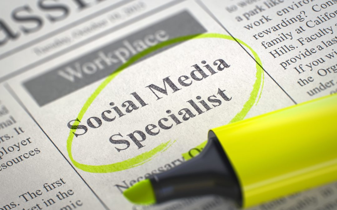 Social Media Specialist wanted
