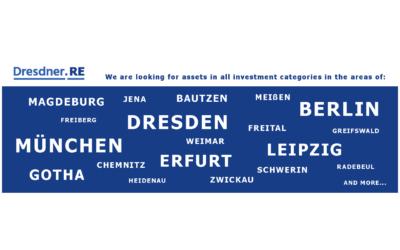 Wir suchen Investments in allen Anlagekategorien in Ostdeutschland